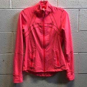 Lululemon neon pink define jacket, sz 6, 62777